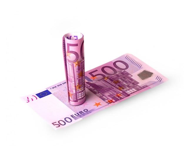 Banknoten in 500 euro