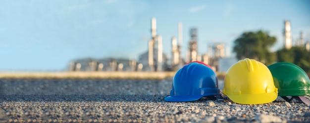 Banner bauschutzhelm-sicherheitswerkzeugausrüstung für arbeiter auf der baustelle für ingenieure