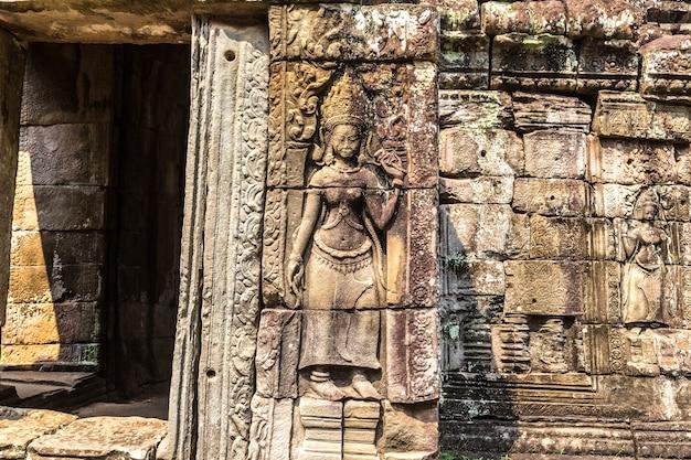 Banteay kdei tempel in angkor wat in siem reap, kambodscha