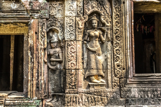 Banteay kdei tempel in angkor wat, kambodscha