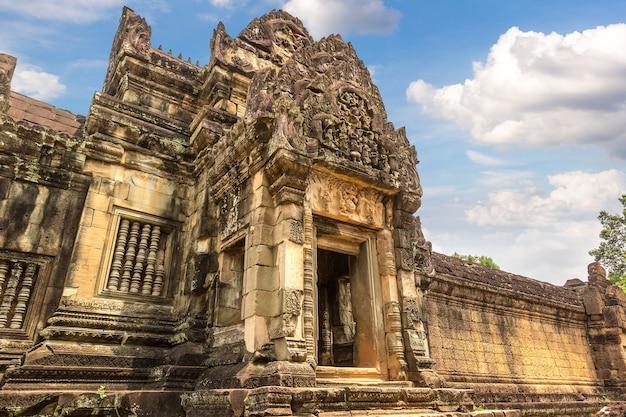 Banteay samre tempel in angkor wat in siem reap, kambodscha