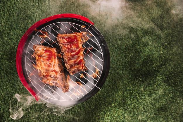 Barbecue-hintergrund