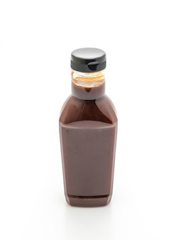 Barbecue sauce flasche