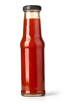 Barbecue-saucen in glasflaschen