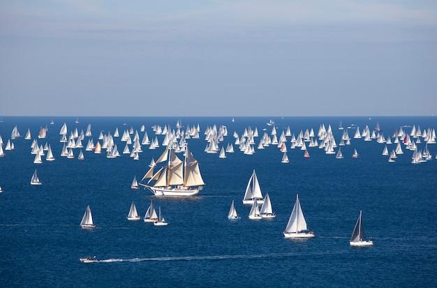 Barcolana 2010, die regatta von triest