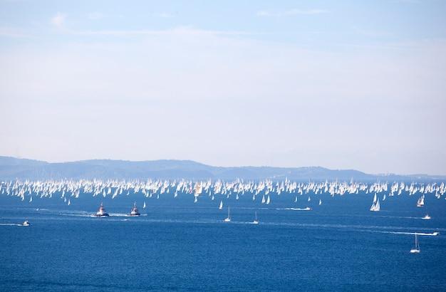 Barcolana, die regatta von triest