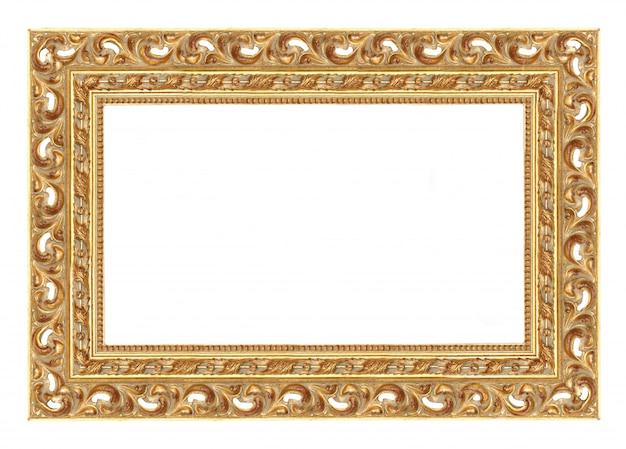 Barocker bilderrahmen zum einfügen eigener bilder