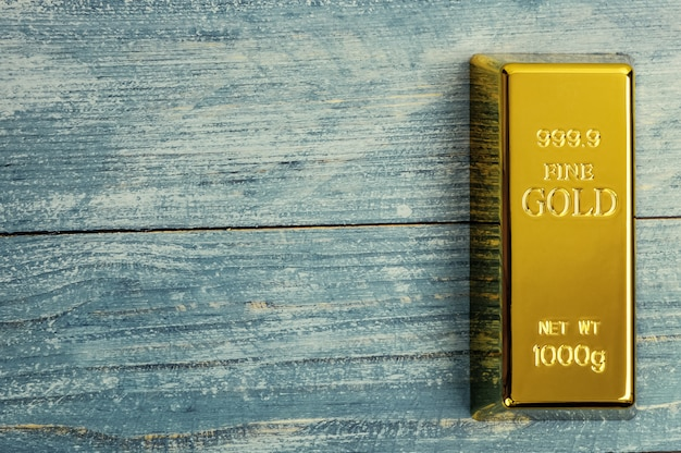 Barren aus reinem goldmetall