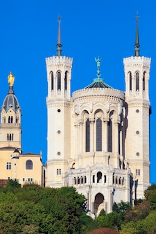 Basilika notre-dame de fourviere in lyon