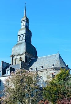 Basilika st. saviour, dinan, frankreich.