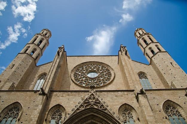 Basilika von santa maria del mar.