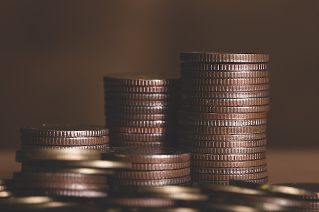 Basis goldmünzen isoliert