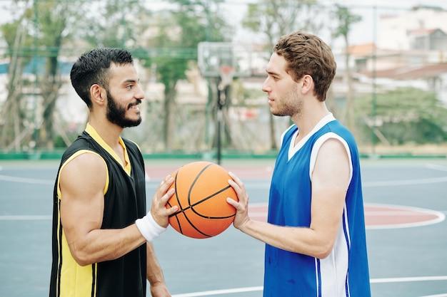 Basketballspiel starten