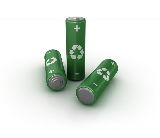 Batterien recyceln