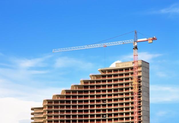 Bau eines mehrstöckigen gebäudes