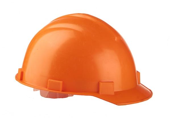 Bau orange helm