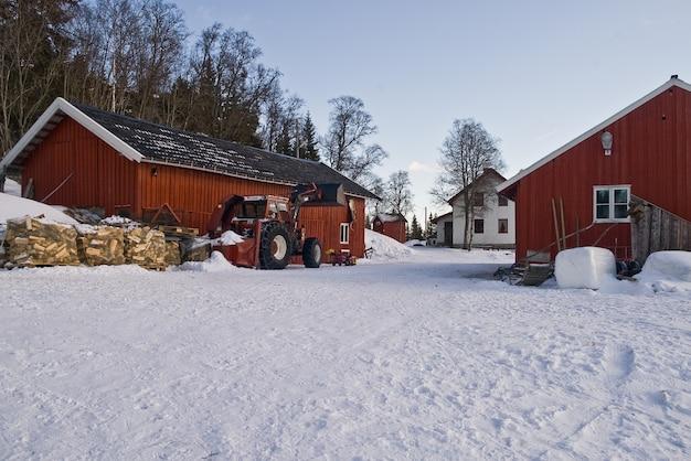 Bauernhof in norwegen