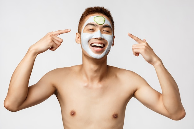 Beauty-, hautpflege- und spa-konzept.