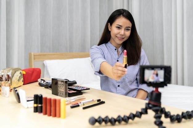 Beauty influencer vlogger
