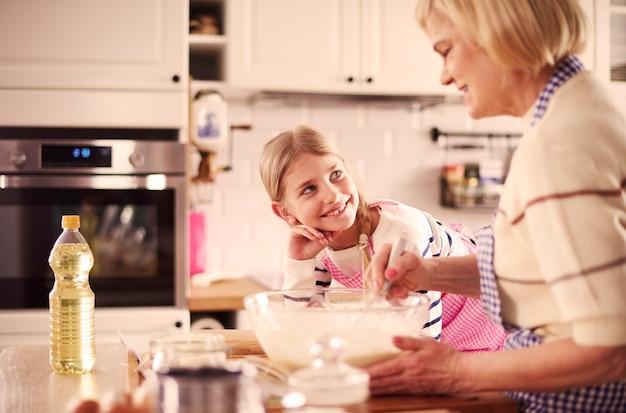 Beginnen wir mit der koch- und backzeit