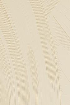 Beige pinselstrich strukturierter hintergrund