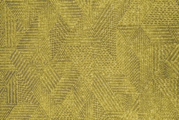 Beige vintage teppich textur mit geometrischem muster