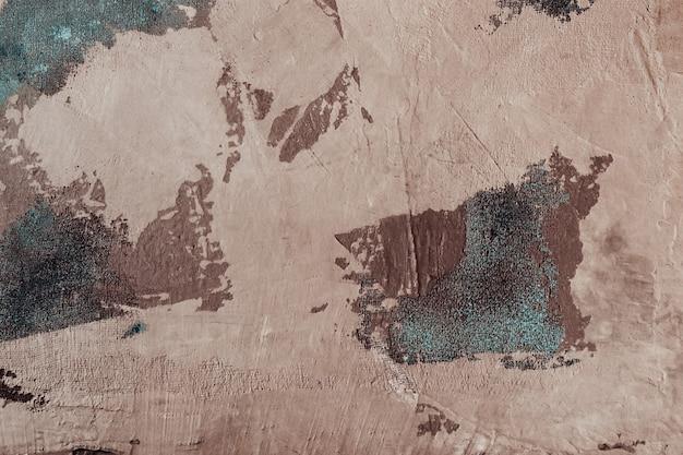 Beiger zierstuck mit blauem gewebegitter. gealterte atmosphärische textur oder hintergrund. Premium Fotos