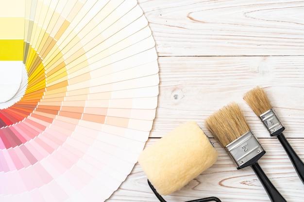Beispielfarben katalog pantone oder farbfelder buch