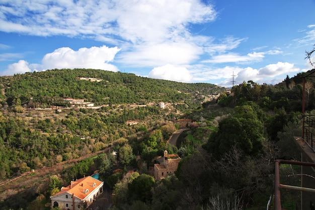 Beit ed-dine palast in den bergen des libanon