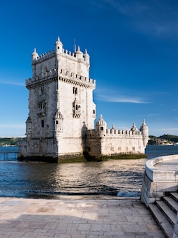 Belem tower in lissabon