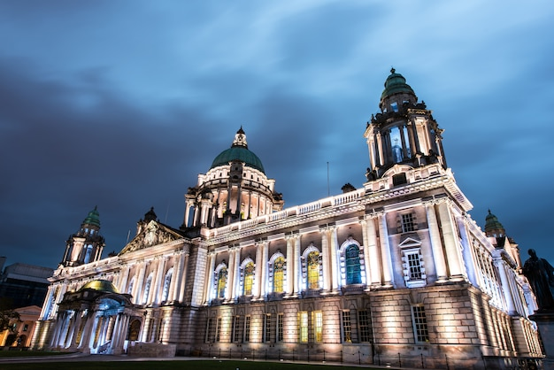 Belfastrathaus, nordirland, großbritannien