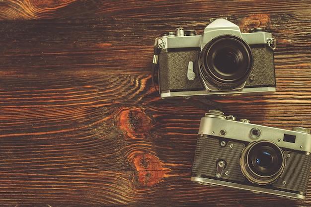 Belichtungsmesser und retro-kamera