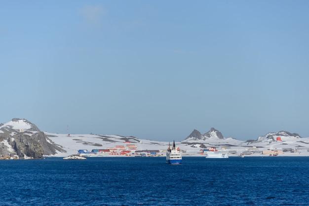 Bellingshausen russische antarktis-forschungsstation