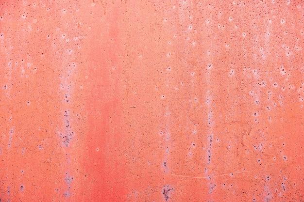 Bemalte rostige metallstruktur mit kratzern