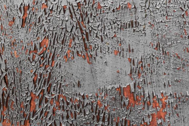 Bemalte und zerkratzte stahlstruktur
