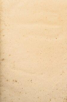 Benutzte papierblattstruktur. leerer kartonhintergrund