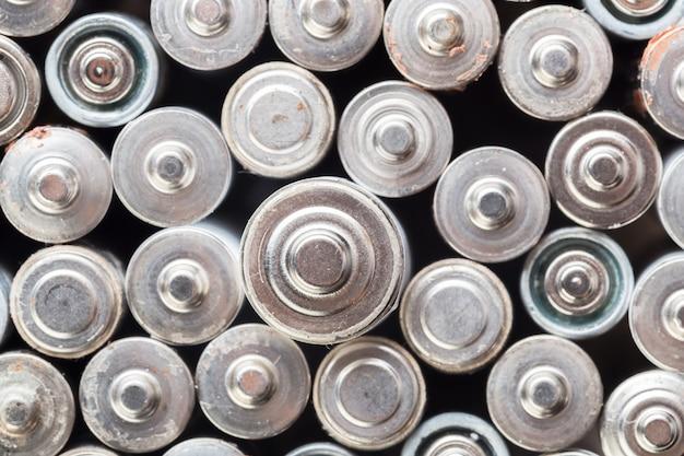 Benutzter batteriehintergrund
