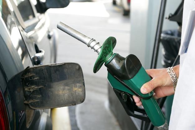 Benzinpumpe von einer tankstelle