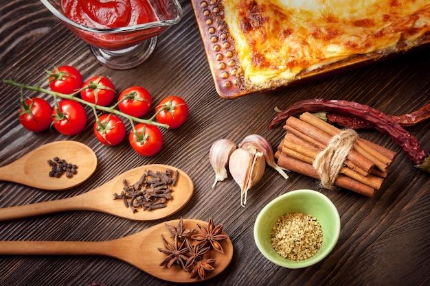 Bereite lasagne