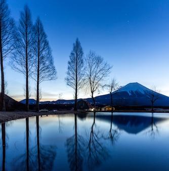 Berg fuji fujisan sonnenaufgang