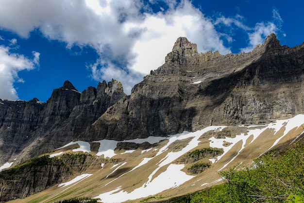 Berg im gletschernationalpark