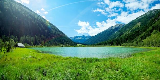 Berge im nationalpark hohe tauern in alpen in österreich oberflächen