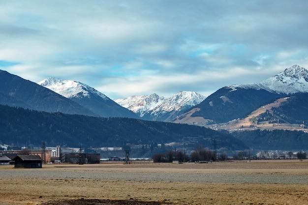 Berge in der nähe von innsbruck