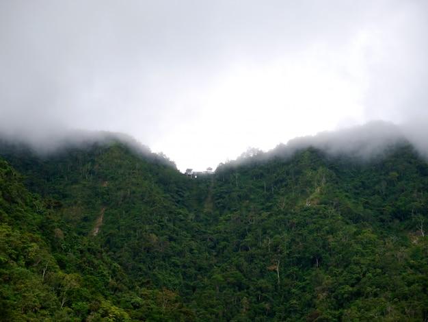 Berge und täler in banaue, philippinen