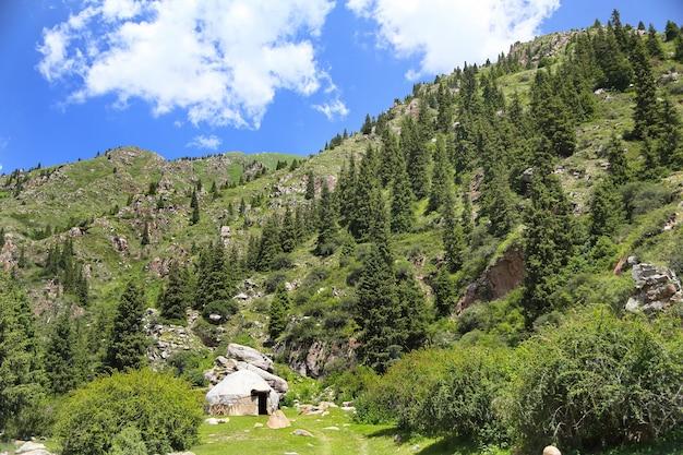 Berge von kirgisistan.