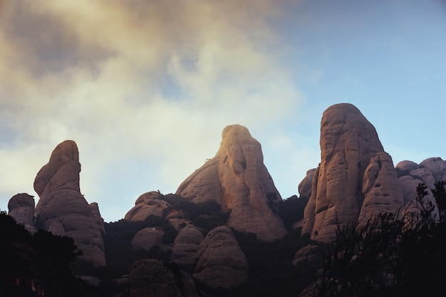 Berge von montserrat