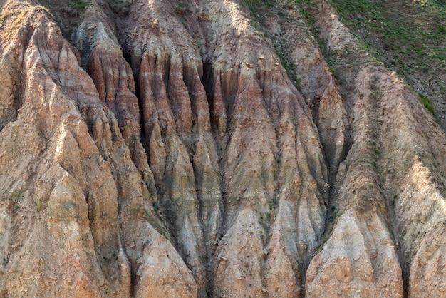 Berghang-erdrutschszene