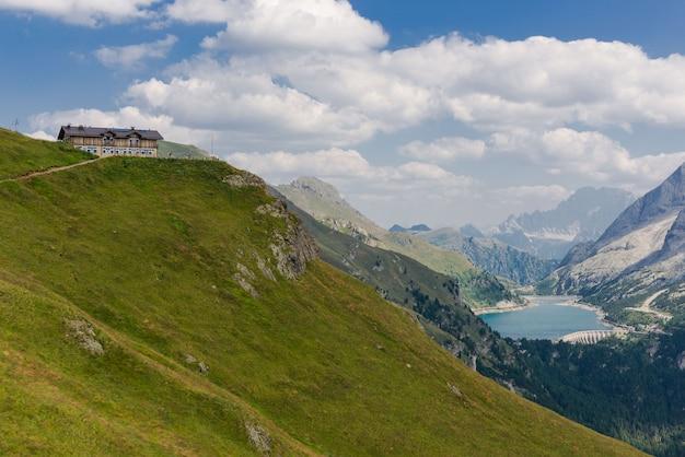 Berghütte viel dal pan