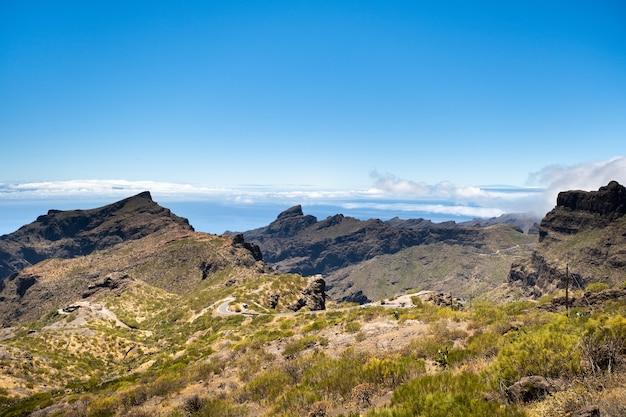 Berglandschaft auf teneriffa
