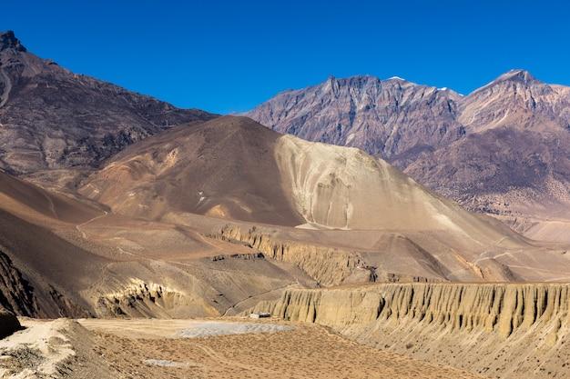 Berglandschaft, der himalaya, unterer mustang, nepal.